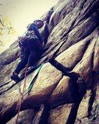Rock Climbing Photo: Transporter Crack, NRG
