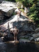 Rock Climbing Photo: The Basin, Pemigiwassat River.