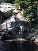Rock Climbing Photo: Franconia Notch