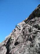 Rock Climbing Photo: Bear Hugging Big Hilda