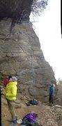 Rock Climbing Photo: Airbender, Farley Ledges