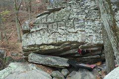 "Rock Climbing Photo: Oliver Richman on ""The Art of Vogi"", V4...."