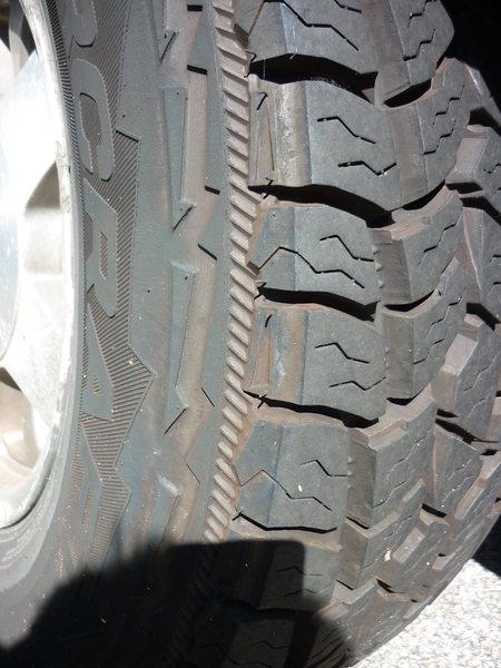 Rock Climbing Photo: new tires