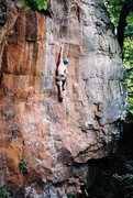 Rock Climbing Photo: Horseshoes and Hand Grenades: A Classic