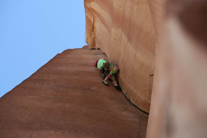 Rock Climbing Photo: Think Pink in all its glory.