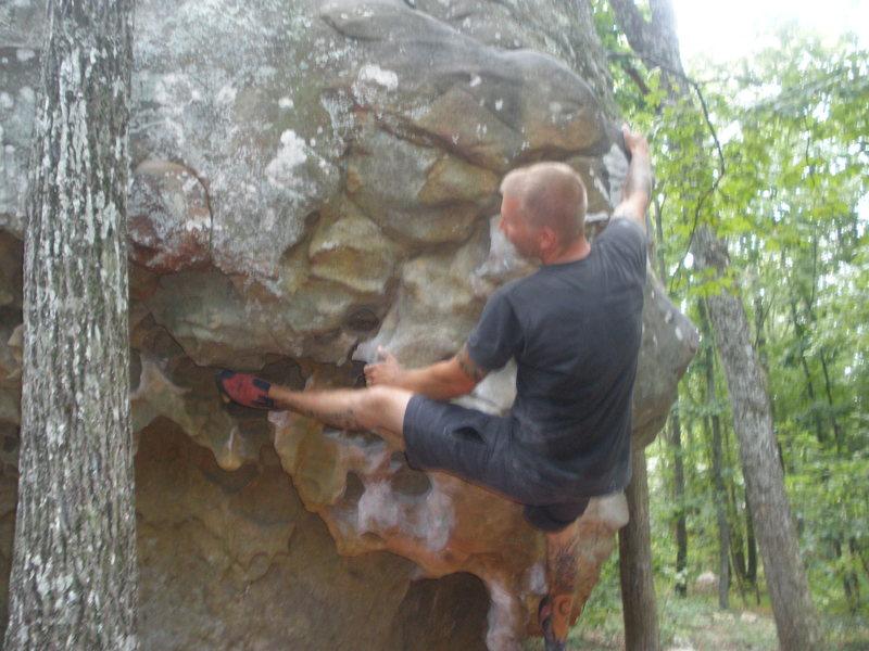 Rock Climbing Photo: Growing Stone
