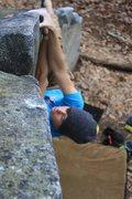 "Rock Climbing Photo: Taylor Eshmont on ""Mizzens Mast"", V1. St..."