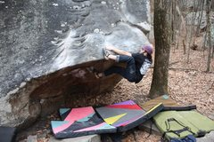 "Rock Climbing Photo: Josh Musial cruising ""The Sternum"", V5. ..."