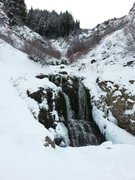 Rock Climbing Photo: First Waterfall 11/29/15