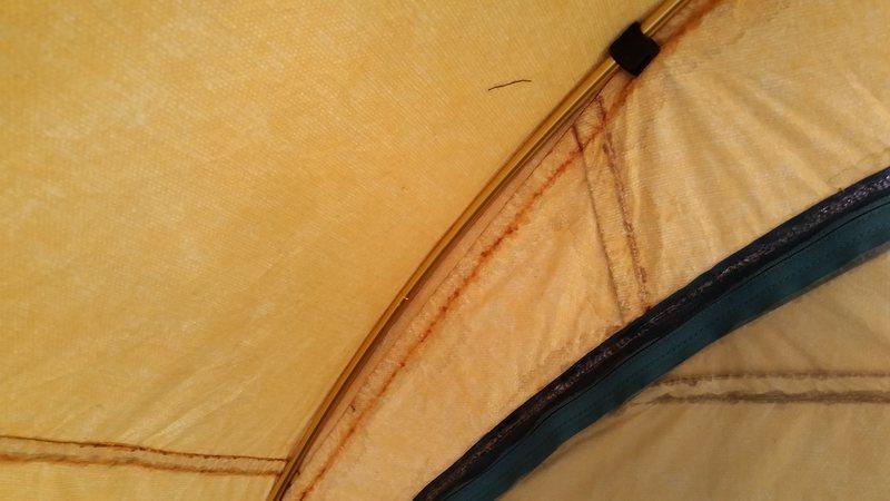 Rock Climbing Photo: Seam sealed interior and exterior