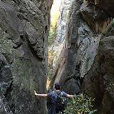 Rock Climbing Photo: linville descent