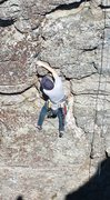 Rock Climbing Photo: linville warm up