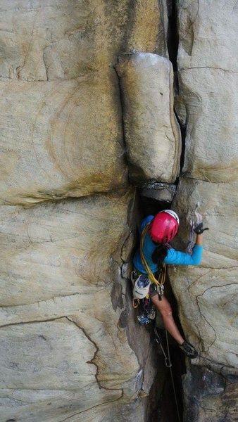 Rock Climbing Photo: good pro everywhere