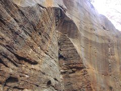 Rock Climbing Photo: bring your trad skills and the route is done!
