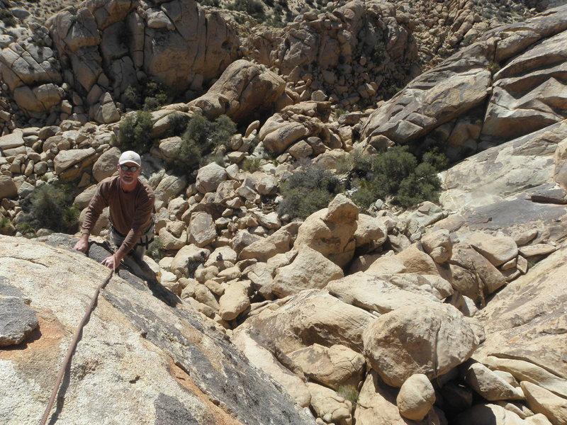 Rock Climbing Photo: Tim Pinar on Weo.