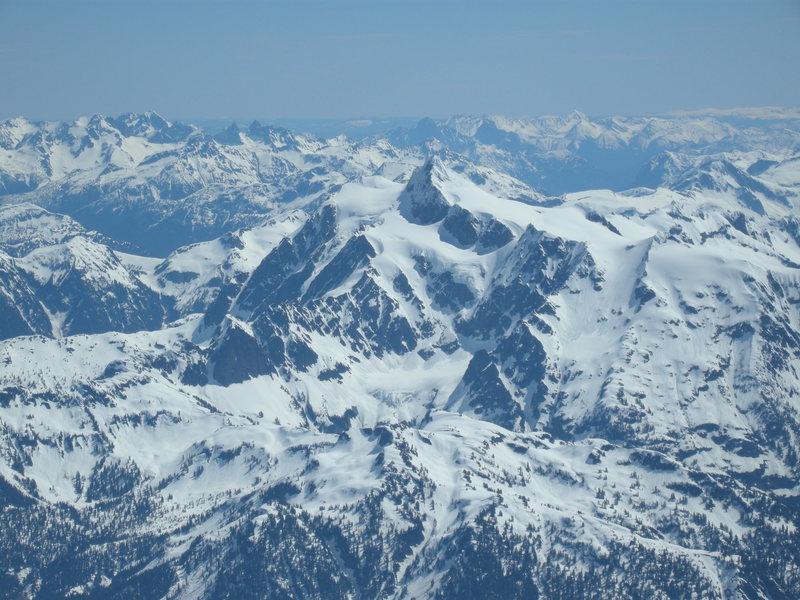 Shuksan. Photo from summit of Baker.