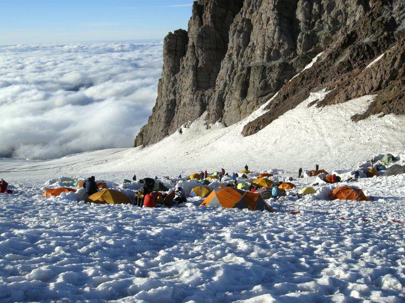 Rock Climbing Photo: Mt. Rainier.