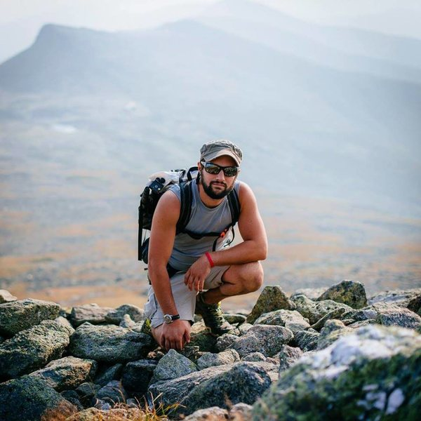 Portrait on Mount Washington