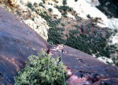 Rock Climbing Photo: Ben on p4!!!  The best pitch on the route....