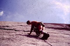 Rock Climbing Photo: Stone Mountain, NC 1983