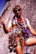 Rock Climbing Photo: Royal Arches, Yosemite NP, CA  1984