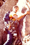 Rock Climbing Photo: Seneca Rocks, WV 1985