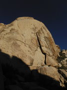 Rock Climbing Photo: The Great Unknown climbs the beautiful left facing...