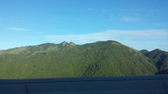 Rock Climbing Photo: View of Las Tetas from the highway