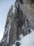 Rock Climbing Photo: The plumb line  beauty of Nightmare on Wolf Street...