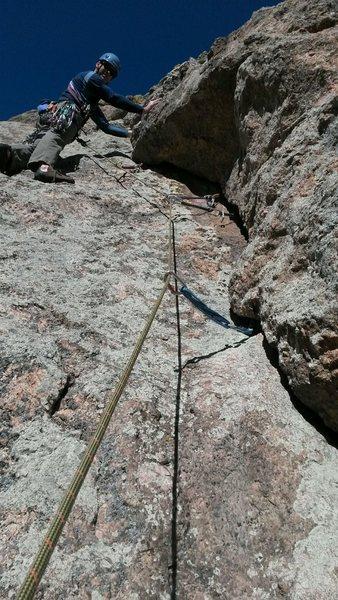Rock Climbing Photo: Arthurs Rock