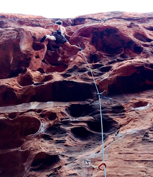 Rock Climbing Photo: Red Rock....