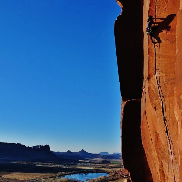 Rock Climbing Photo: Try Hard - Scarface 11/15