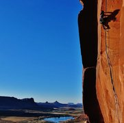 Rock Climbing Photo: Try Hard - Scarface 11/15