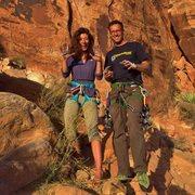 Rock Climbing Photo: Happy Hands!