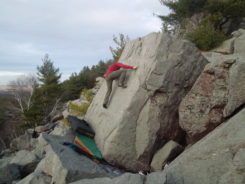 Rock Climbing Photo: a few moves in