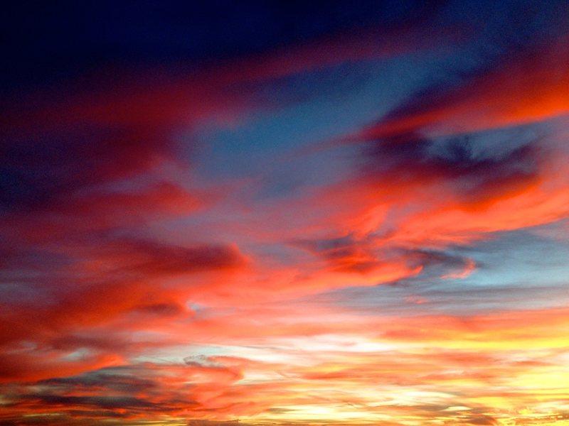 Sunset at Kanab Point, Grand Canyon.