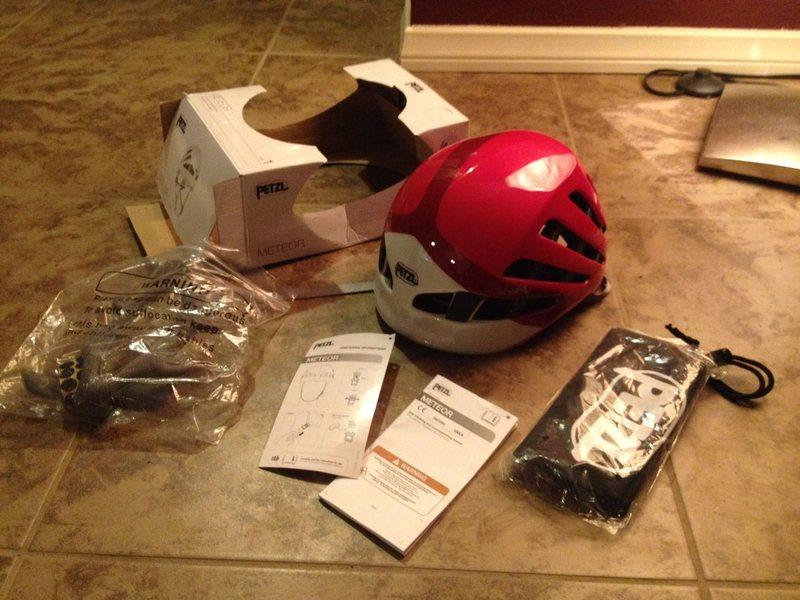 Pink Petzl Helmet Size 1