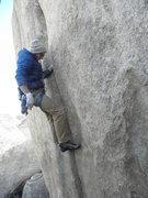 Rock Climbing Photo: A.K. on Boortemus.