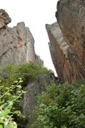Rock Climbing Photo: A different perspective of Tabula Rasa in the Vesi...