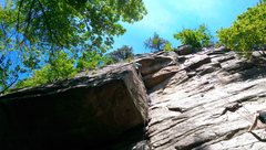 Rock Climbing Photo: here's mine.  this is traversing the block on hors...