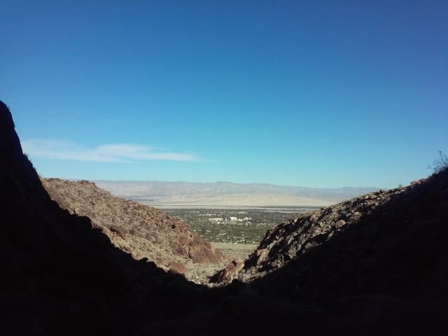The view from the base, Dry Falls