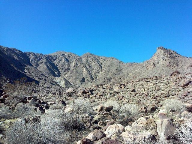 Tachevah Canyon, Dry Falls