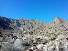 Rock Climbing Photo: Tachevah Canyon, Dry Falls