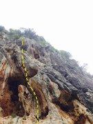 Rock Climbing Photo: Cliff New Age (6c)