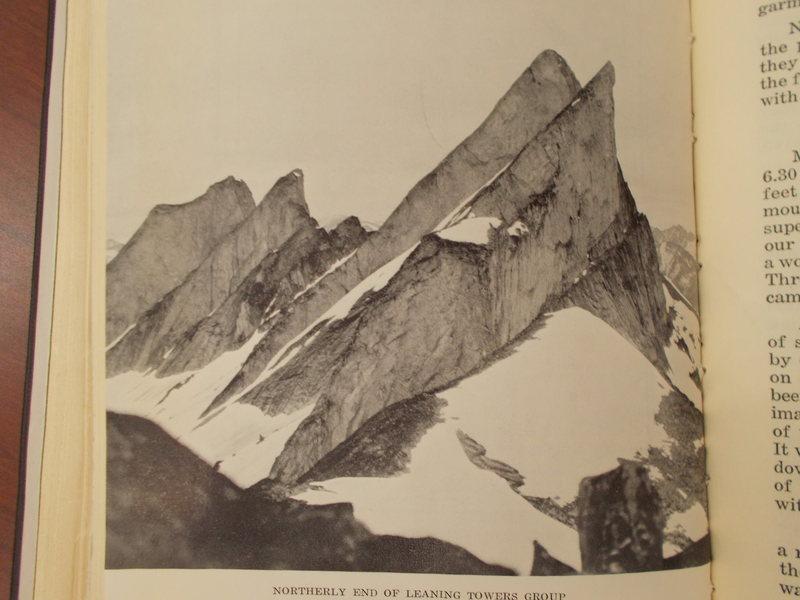 Rock Climbing Photo: Photograph by Mr. A. A. McCoubrey of Manitoba, dis...
