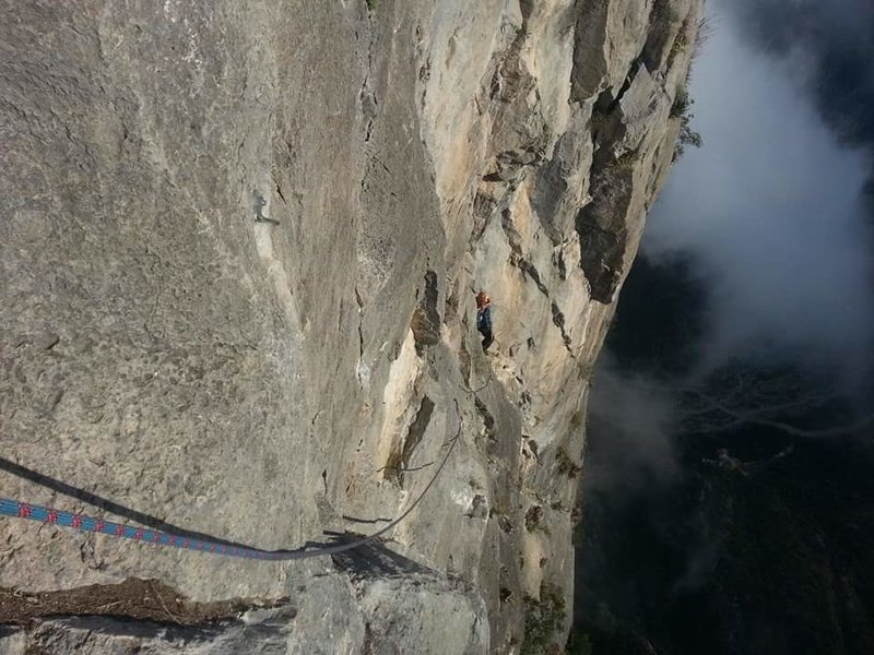 Rock Climbing Photo: Time Wave Zero, EPC Mexico