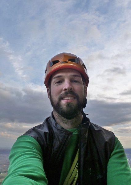 Rock Climbing Photo: GT ledge selfie