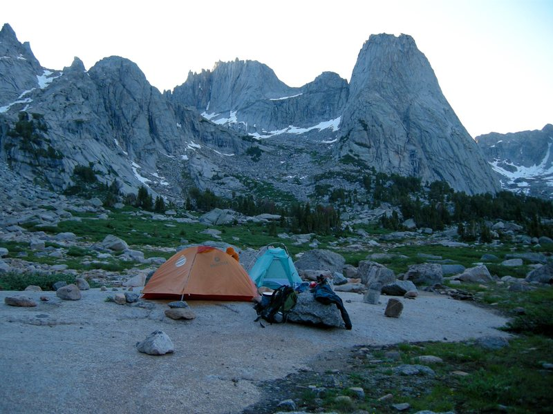 Rock Climbing Photo: Cirque of Towers. Wind River Range.