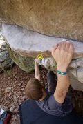 Rock Climbing Photo: 2015 Triple Crown boulderer- you can see the area ...