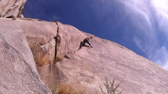 Rock Climbing Photo: Jack getting after it on the first pitch of Adam's...